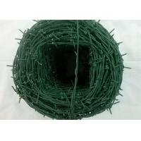 Quality Tradition Twisted Barbed Wire Mesh Fence Powder Coated With 1.5-3cm Barb Length for sale