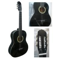 Buy White ABS Binding Wood Classical Guitar Basswood Junior For Beginners CG3910AW at wholesale prices