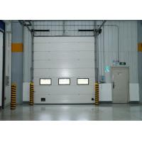 China Insulated Steel Roller Shutter Doors Industrial Sectional Sliding Door Automatic Control on sale