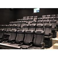 Quality Customized Environmental 4D Cinema Equipment / Electric 4D Motion Seats for sale