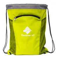 Quality New Hot Selling  Cheap Polyester Drawstring Bag with Zipper-HAD14023 for sale