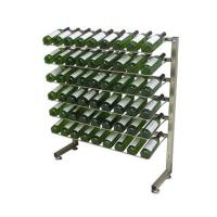 Quality Metal Caster Wine Display Rack for sale