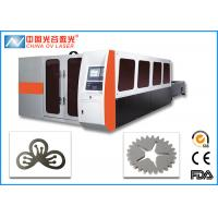 Quality 3 Phase Fiber Laser Cutting Machine for Hardware Steel Plate for sale