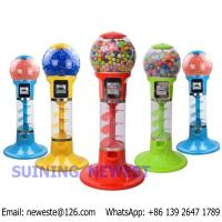 Quality With 500pcs toys, Desktop Mini Coin Operated Candy Vendor Gumball Capsules Toy Vending Machine for sale