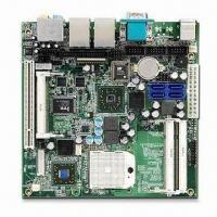 Quality Industrial Mini-ITX Motherboard with AMD Turion 64, Mobile Sempron and AMD M690E/SB600 Chipset for sale