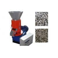 Quality High Capacity Sawdust Flat Die Pellet Machine For Home / Small Process Plant for sale