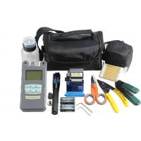 FTTB FTTH Fiber Optic Tool Kit For Fiber Optic Cabling  , Telecom System Maintenance Cable Cut - Connect Operation