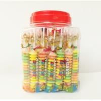 Quality Multi fruit flavor Baby Candy Brochette in Plastic Jars Taste sweet and sour for sale