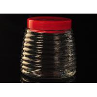 Quality Ribbon Cone Glass Tableware Empty Honey Bottles PersonalizedRecyclable for sale