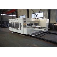 Quality Multi colors printing slotting die cutting machine for corrugated cardboard, carton printer slotter for sale