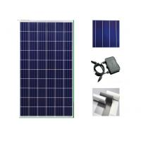 Quality Clean Energy Silicon Solar Panels 260 Watt , Home System Black Solar Panels for sale