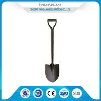 China One Tube Handle Steel Spade Shovel 2.2kg 1000MM Total Length For Snowing on sale