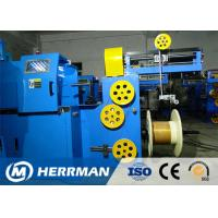 Quality Triple Layer Concentric Cable Taping Machine Speed Up To 2200RPM PLC Control for sale