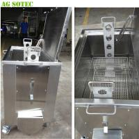 Quality Movable Kitchen Soak Tank With Casters And Brake Heating Optional for sale