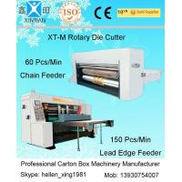 Quality Corrugated Carton Box Rotary Die-Cutting Machine For Colorful Cartons / Boxes for sale