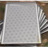 Quality Metal Perforated Wire Basket Cable Tray , Stainless Steel Baking Sheet For Food Processing for sale