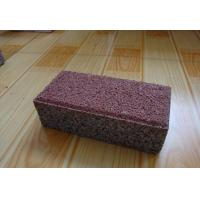 Quality Clay Material Permeable Driveways Products , Block Paving Edging Bricks for sale