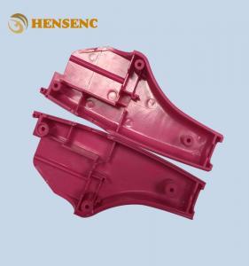 China Precision Automotive Plastic Moulding , Red Auto Interior Trim Molding on sale