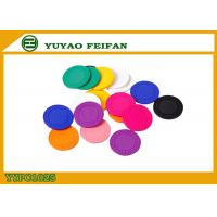 Quality Colorful Feifan Style Clay Material Custom Design Poker Chips 8g 40 X 3.3mm for sale