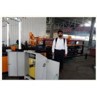 Quality 2m width double wire feeding full Automatic Chain Link Fence Machine for sale