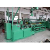 Quality Industry Chain Link Fence Machine / Automatic Diamond Mesh Machine For Airport / Port for sale