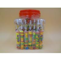 Quality Different Shape Bottled Fruity Hard Candy Raspberry / Strawberry / Mango Candies for sale