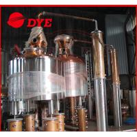Quality Sight Glass Commercial Alcohol Distillation Equipment Pear Head for sale
