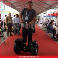 Quality Off-road Electric Personal Transporter Scooter Black With 2 Wheels for sale