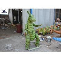 Quality Animatronic Waterproof Dinosaur Lawn Statue For Outside Garden Decoration for sale