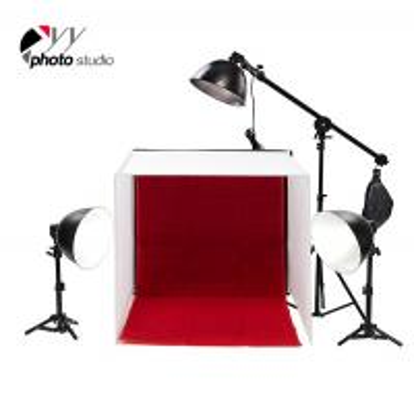 Studio Lighting Cheap: Photo Studio Easy-Carry Spuare Light Tent In-A-Box YA439