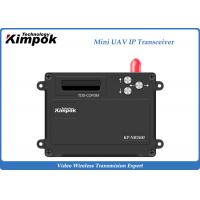 Quality 2.4Ghz Mini UAV TDD Transceiver Video + Data IP Transmitter and Receiver 1 Watt for sale