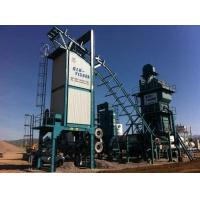 Quality 120tph Portable Asphalt Plant ,  Mobile Hot Mix Plant 4 Decks Sieving Layer for sale