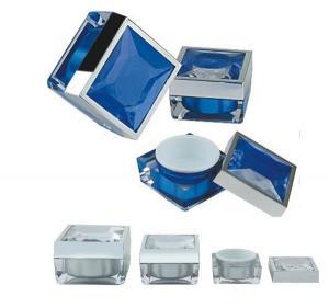 Quality 15gr 30gr 50gr square cosmetic plastic jars for sale