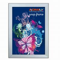 Quality A3 Snap Poster Frames Silver Lightweight Durable Rigid Plastic Sheet for sale