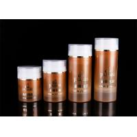 Quality 30ml 50ml 100ml 120ml Cosmetic PP Airless Bottle With Transparent Cover for sale