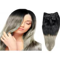 Quality Body Wave 100% Human  Ombre Hair Extensions / Ombre Human Hair Weave Extensions for sale
