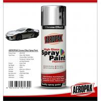 Quality Chemicals Chrome Spray Paint Shock Resistance For Glass / ABS Plastics for sale