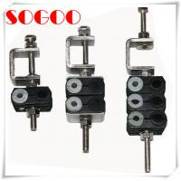 Quality 3 Double Holes Feeder Coaxial Clamp For 7/8 Cable M8 Threaded Hole for sale