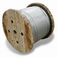 Quality Galvanized Steel Wire Strands, Stay and Messenger Wire, Aerial Self-support for sale