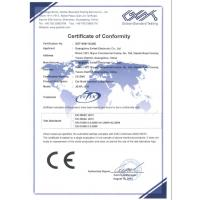 Guangzhou Evitek Electronic Co., Ltd. Certifications