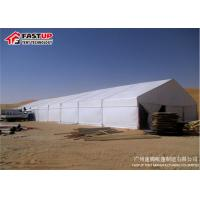 Quality Luxury PVC Outdoor Wedding Marquee Catering Tent With Decoreation UV Resistant for sale