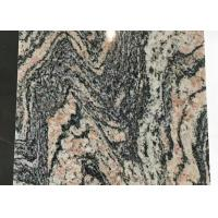 Quality China multicolor red granite juparana granite stone tiles polished for sale
