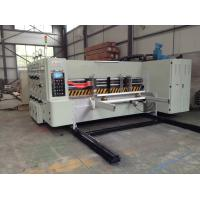 Buy cheap Multi colors printing slotting diecutting machine for corrugated cardboard, China manufacturer from wholesalers