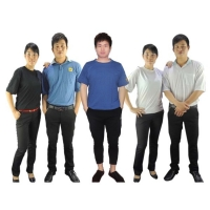 Quality Blue Black 150g 96% Cotton 4% Conductive Fiber ESD T Shirts for sale