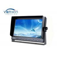 Quality 10.1 inch 2.0MP resolution AHD TFT Car Monitor with 1080P HD cameras and 20M extension cable for sale