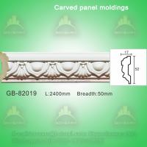 Buy Polyurethane Plain Architectural Panel Decorative Cement Mouldings at wholesale prices