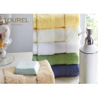 Embroidery Logo Hotel Face Towel Bright Color100% Cotton Face Flannels