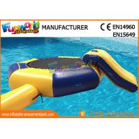 Quality Great Fun Inflatable Floating Water Toys Jumping Pad , 15 Foot Water Trampoline for sale