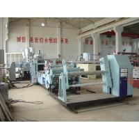 ABS / PMMA / PS / HIPS Plastic Plates Making Machine For Refrigerator