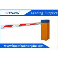 830mm Height Retractable Parking Lot Barrier Gate With Anti - Crash Functions